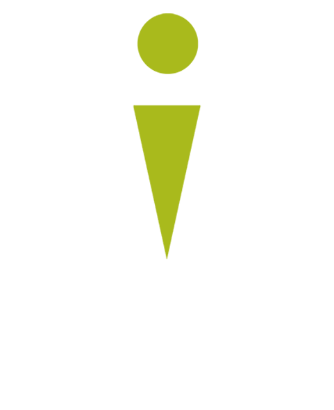 Logo Syndicat Initiative Blanc