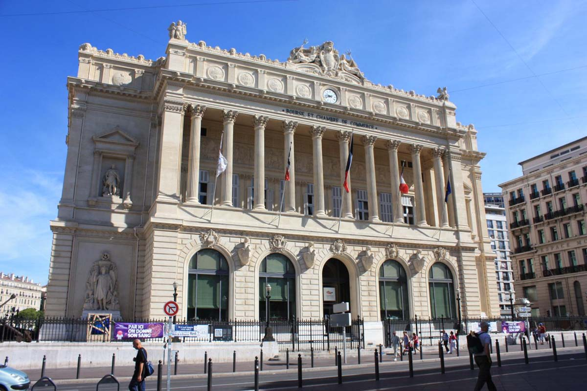 Le palais de la bourse syndicat d 39 initiative marseille - Chambre de commerce et d industrie marseille ...